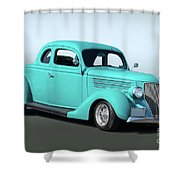 1936 Ford Coupe 1 Shower Curtain