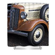 1936 Gmc Pickup Truck 1 Shower Curtain