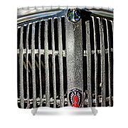 1936 Oldsmobile Grille Shower Curtain