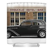 1936 Plymouth Business Coupe II Shower Curtain