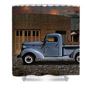1937 Chevy Pickup Truck Shower Curtain
