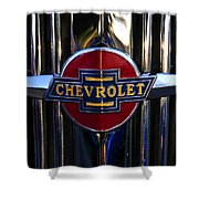 1937 Chevy Star Shower Curtain