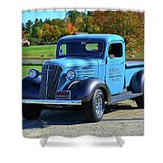 1937 Chevy Truck Shower Curtain