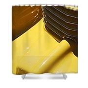 1937 Cord 812 Phaeton Hood Ornament Shower Curtain