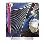 1937 Ford 2 Door Sedan Shower Curtain