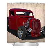 1937 Ford Truck Shower Curtain