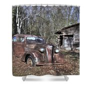 1937 Revisited Shower Curtain