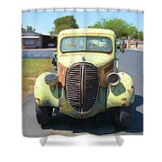 1938 Ford Truck Shower Curtain