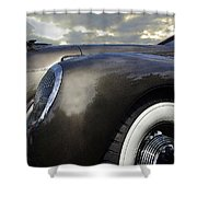 1938 Lincoln Shower Curtain
