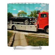 1938 Studebaker Cab Over Shower Curtain