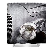 1938 Talbot-lago 150c Ss Figoni And Falaschi Cabriolet Headlight - Emblem -1554ac Shower Curtain
