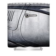 1938 Talbot-lago 150c Ss Figoni And Falaschi Cabriolet Side Door Handle -1511ac Shower Curtain