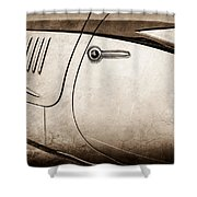 1938 Talbot-lago 150c Ss Figoni And Falaschi Cabriolet Side Door Handle -1511s Shower Curtain