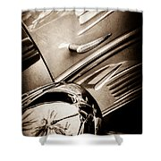 1939 Bugatti T57c Galibier -0298s Shower Curtain