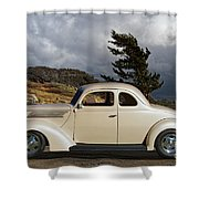 1939 Chevrolet Coupe Shower Curtain