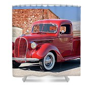 1939 Ford 'stake Bed' Pickup Truck I Shower Curtain