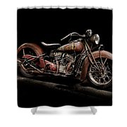1939 Indian Chief Shower Curtain