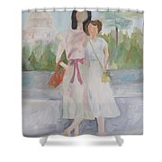 1939 Washington Trip Shower Curtain