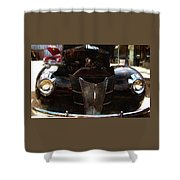 1940 Ford Coupe Shower Curtain