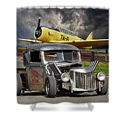 1940 Ford Rat Rod Pickup IIi Shower Curtain
