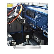 1940 Ford Truck Interior Shower Curtain