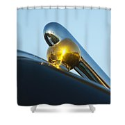1940 Lincoln Hood Ornament Shower Curtain