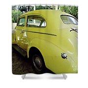 1940 Oldsmobile Shower Curtain