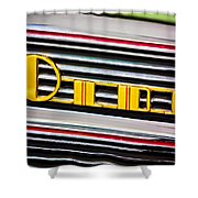 1940 Oldsmobile Emblem Shower Curtain