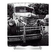 1940's Chevrolet Truck Shower Curtain