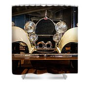 1941 Bugatti Type 41 Royale At The Henry Ford Museum Shower Curtain