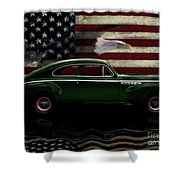 1941 Buick Century Tribute Shower Curtain