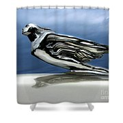 1941 Cadillac Emblem Abstract Shower Curtain