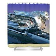 1941 Cadillac Mascot Shower Curtain