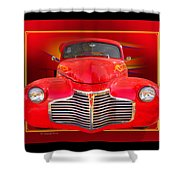 1941 Chevy Custom Shower Curtain