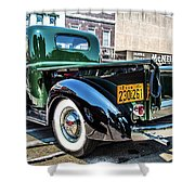 1941 Chevy Truck Shower Curtain