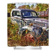 1941 Ford Truck Shower Curtain