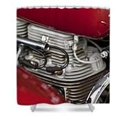 1941 Indian 4 Cyl Motorcycle Shower Curtain