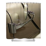 1941 Lincoln Continental Side Mirror Shower Curtain
