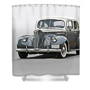 1941 Packard 120 Sedan I Shower Curtain