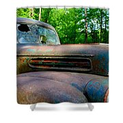 1942 Ford Shower Curtain