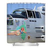 1944 Maid In The Shade  Shower Curtain