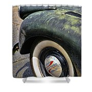 1946 Chevy Pick Up Shower Curtain