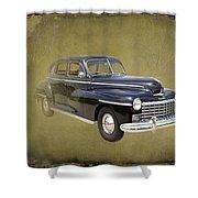 1946 Dodge D24c Sedan Shower Curtain