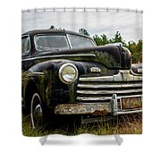 1946 Ford Model A Shower Curtain