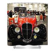 1947 Delahaye 135m Letourner Et Marchand Cabriolet Shower Curtain