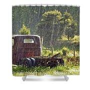 1947 Dodge Pickup Rain And Sun Shower Curtain