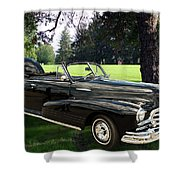 1947 Pontiac Convertible Photograph 5544.07 Shower Curtain
