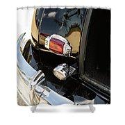 1947 Pontiac Convertible Photograph 5544.14 Shower Curtain