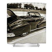 1947 Pontiac Convertible Photograph 5544.64 Shower Curtain