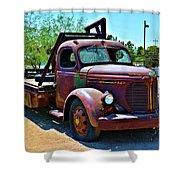 1947 Reo Speed Wagon Truck Shower Curtain